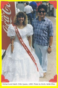 Richard and Hatch Chile Queen, 1989