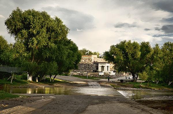 Rio Son Bacoachi Crossing