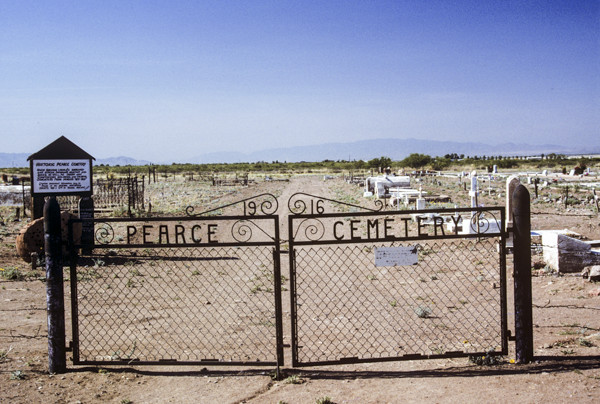 """Bare Earth"" Cemetery, Pearce"