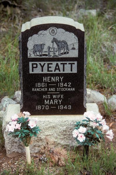 Mr. Pyeat's marker