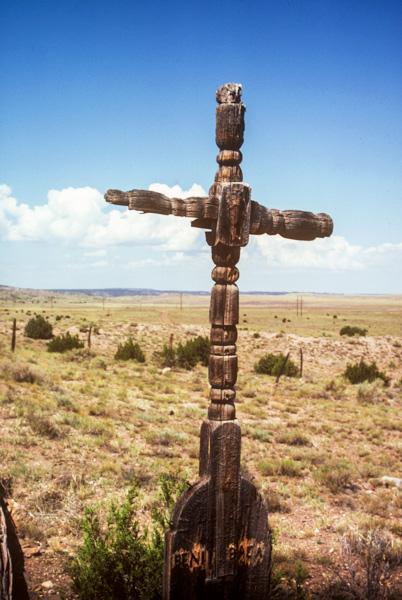 Turned cross in Concho