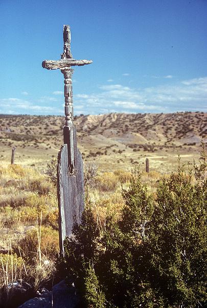 Tall cross, Concho