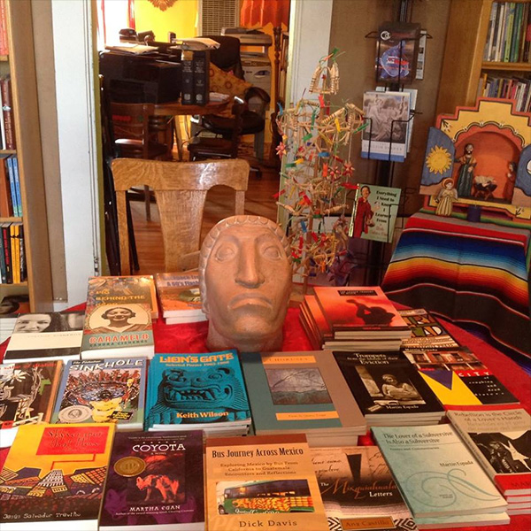 Book Table in Frida's room
