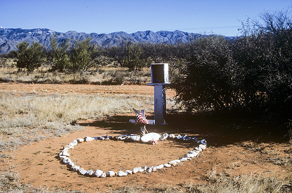 Death Memorial on State Highway #86