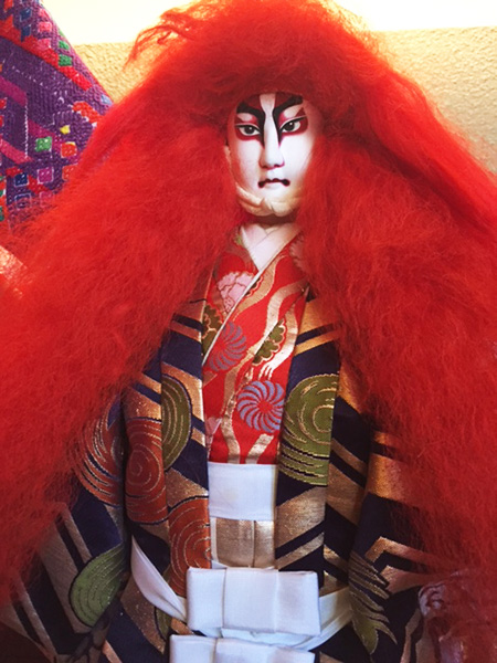 Doll in Renjishi costume