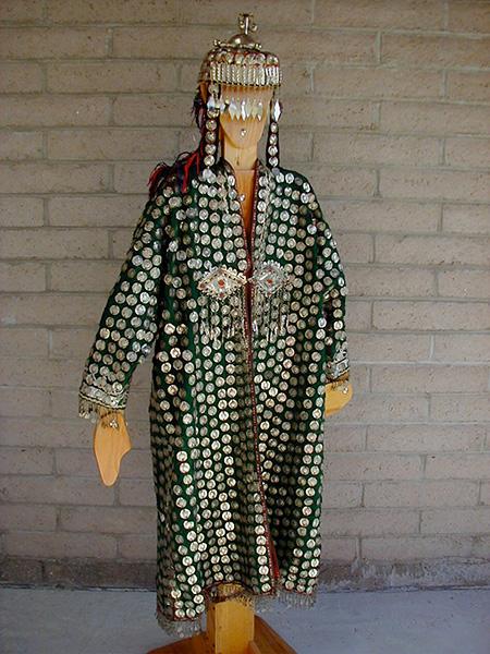 Turkoman woman's coat, Uzbekistan