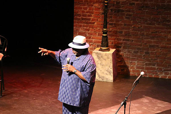 "Rod Ambrose onstage in ""The Art of Blues"""