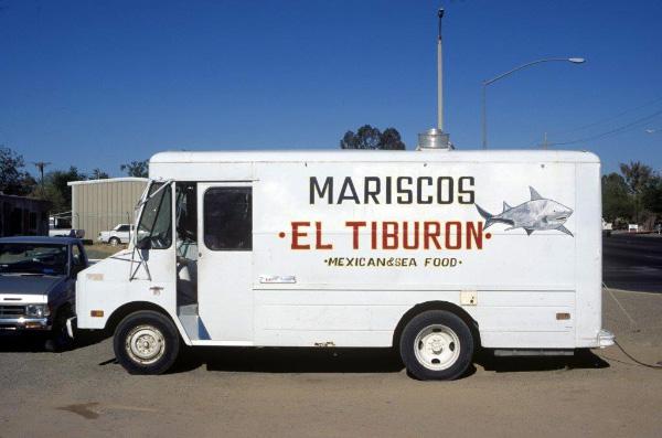 MARISCOS EL TIBURON (the shark), side view, 1996