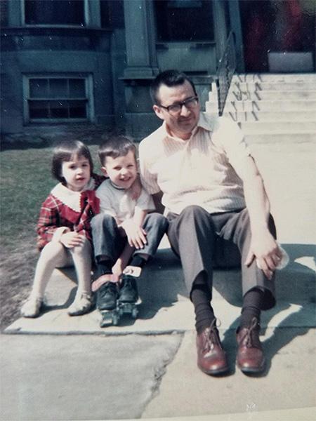 Julius Martinez' family