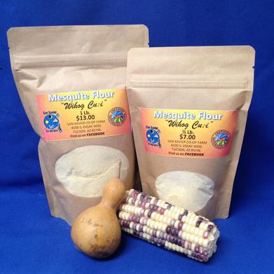 Mesquite flour