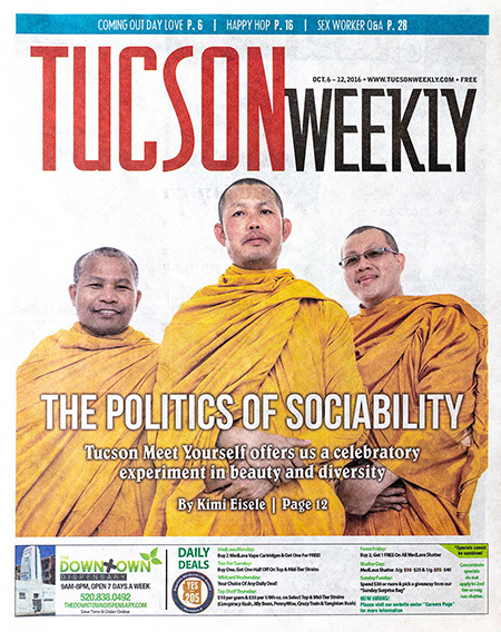 Tucson Weekly cover for 2016 Tucson Meet Yourself