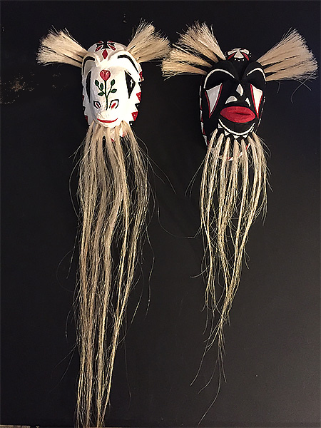 Masks by Louis David Valenzuela