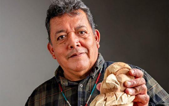 The Wood Is Like Magic: A conversation with Louis David Valenzuela