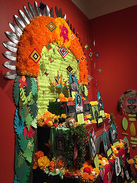 """Defenders of Our Mother Earth"" ofrenda"