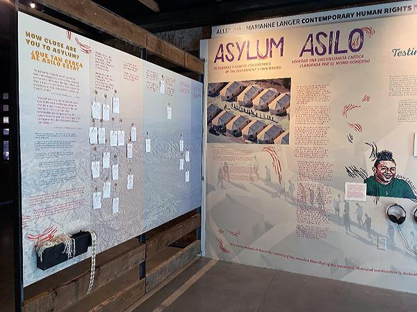 Asylum/Asilo Exhibit